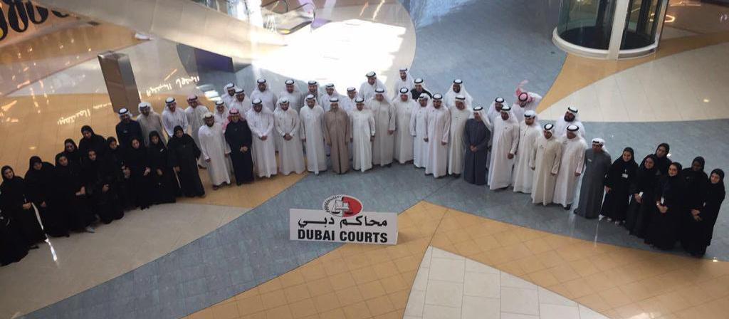 إطلاق التقرير السنوي لمحاكم دبي 2019